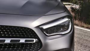 Mercedes Kompaktfahrzeuge im Wandel