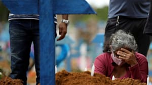 Brazil deaths may surpass 125,000 by August