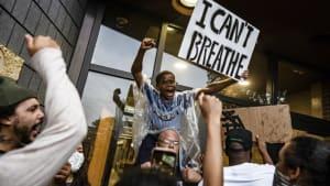 Protest gegen rassistische Gewalt in Minnesota: 4 Polizisten entlassen