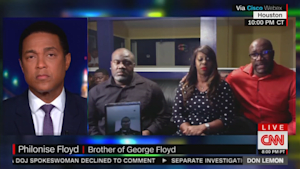 George Floyd's brother on arresting officers