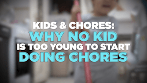 "Expert says it's ""important"" for kids to do chores"