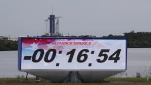 SpaceX-Start wegen schlechten Wetters abgesagt - Neuversuch am 30.05.