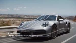 Porsche 911 Turbo S - Porsche Active Aerodynamics (PAA)