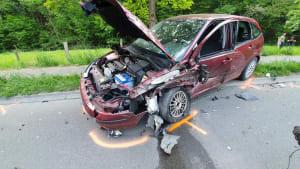 Fünf Verletzte bei schwerem Verkehrsunfall in NRW!