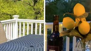 Transform your patio into a mini Italian villa