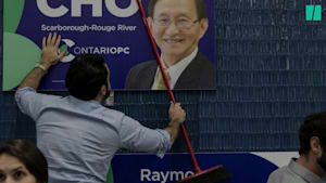 Ontario Minister Sends Cardboard Cutout To Photo-Op
