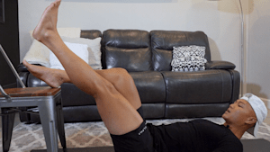 Engage your glutes with this at home, booty building workout