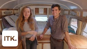 Weighed down by student debt, this couple decided to try tiny living