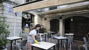 Französische Restaurants und Cafés dürfen am 2. Juni wieder öffnen