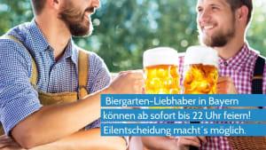 Coronavirus - Bayerische Biergärten dürfen nach Eilentscheid länger öffnen