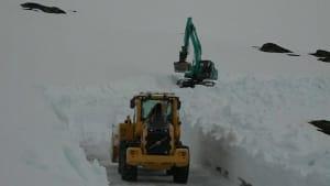 Norwegen: Winter im Frühsommer