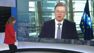 """Dombrovskis: """"Die Wirtschaft erholt sich bald - davon gehen wir aus"""""""