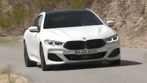 Das neue BMW 8er Gran Coupé in Faro, Portugal