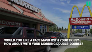 Alberta To Hand Out Face Masks Via Restaurant Drive-Thrus