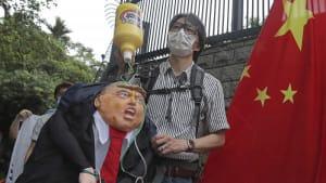 Sicherheitsgesetz: Trump kündigt Sanktionen gegen China an