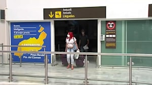 Corona-Fall im Flugzeug nach Lanzarote - Passagiere in Quarantäne