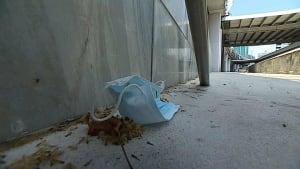 Coronavirus-Pandemie: Gebrauchte Schutzmasken werden zum Problem