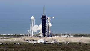 SpaceX: Private Falcon-9-Rakete in Richtung ISS abgehoben