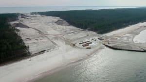 Streit um Schifffahrtskanal in Polen - Umweltschützer protestieren