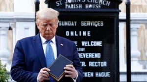 USA: Trump droht mit Einsatz des Militärs