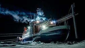 """Wegen Corona verspätet: Crew-Wechsel auf der """"Polarstern"""""""