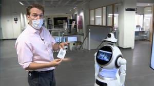 Mit Robotern gegen das Coronavirus