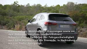 Der neue Mercedes-Benz GLA - Das Verkehrsumfeld im Blick- die Fahrassistenzsysteme