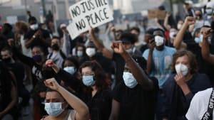 Ausschreitungen und Festnahmen bei Black-Lives-Matter-Protesten