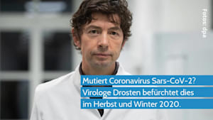 Coronavirus - Virologe Drosten befürchtet Mutation