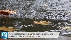 Das Bayern-Wetter: Es wird kalt und ungemütlich