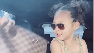 This adorable kid had a lot to say about her mom's 'Purse Challenge'