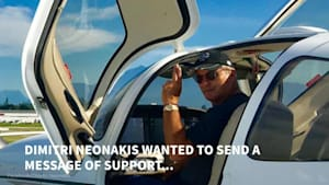 Nova Scotia Pilot Creates Touching Tribute To George Floyd