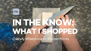 Keep your knives razor sharp with this whetstone