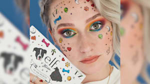Jkissa vs. In The Know: Rainbow-inspired makeup challenge