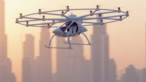 Flying taxis are here