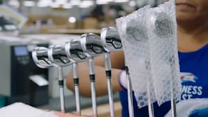 Callaway gives an inside look at how it makes custom golf clubs