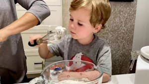 Dining with Cal: Dylan and her son make blueberry buckle