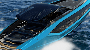 Lamborghini unveils a 4000-HP yacht that looks like a supercar