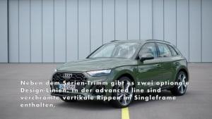 Der Audi Q5 - Das Exterieurdesign - Audi Q-Designsprache jetzt noch markanter