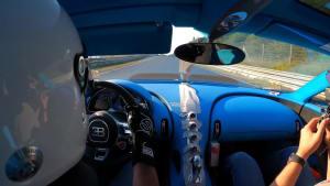 Bugatti Chiron Pur Sport - Finale handling-fahrten auf der Nordschleife
