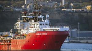 Sizilien: Alle Migranten auf der Ocean Viking haben das Schiff verlassen
