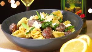 Best Bites: Sausage, Feta, Green Onion Tortellini