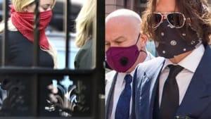 Johnny Depp und Amber Heard vor Gericht im Londoner High Court