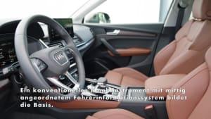 Der Audi Q5 - Bedienung, Infotainment und Audi connect - Vernetzung auf Top-Niveau