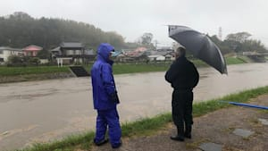 Land unter Japan: mehr als 50 Tote nach Regenfällen