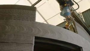 (H)ausgedruckt: So entsteht ein Gebäude aus dem 3D-Drucker