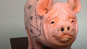 Pastry master creates realistic pig-shaped cake