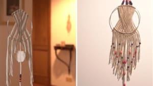 Boho-Heimdekoration: Mache deinen eigenen Makramee-Traumfänger