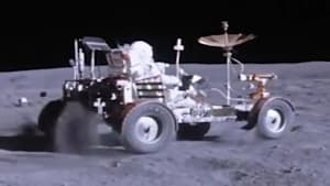 NASA releases decades-old footage of astronauts driving on the moon