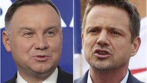 Jetzt gilt's: Wer wird Polens Staatsoberhaupt?